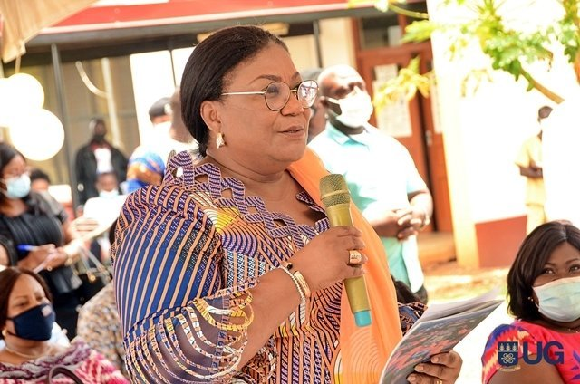 Photos: First Lady Donates to University of Ghana Hospital