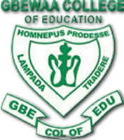 Gbewaa College of Education Courses