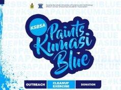 KSB Paints Kumasi Blue