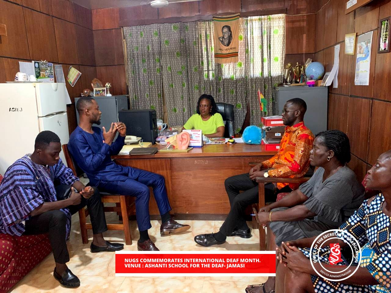 nugs-secretary-for-education-commemorate-international-deaf-month-with-ashanti-school-for-the-deaf